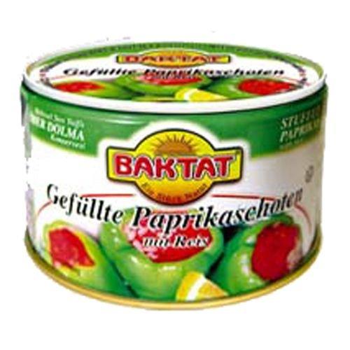 BAKTAT 350g Gefüllte Paprikaschoten Reis BAKTAT - delikatessa