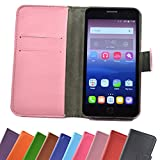 ikracase ARCHOS Access 50 Color 3G Smartphone/Slide Kleber Hülle Case Cover Schutz Cover Etui Handyhülle Schutzhülle in Pink-Light