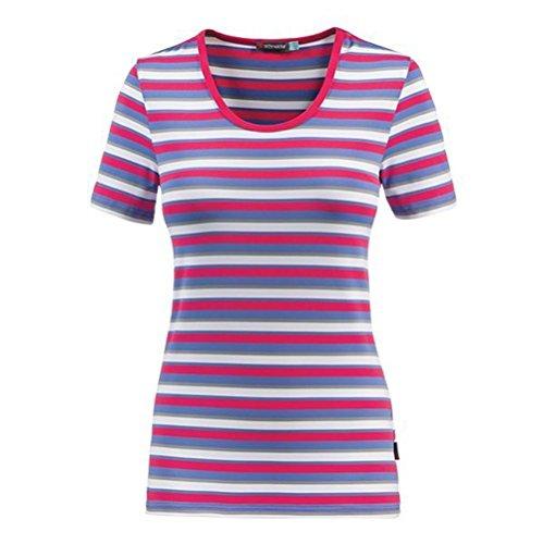 Schneider Sportswear Damen Shirt Ella Cranberry/Ultramarine