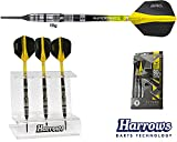 Darts HARROWS Elite 90% Tungsten Softdarts + Dartständer