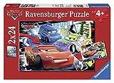 Ravensburger - Cars Puzzle 2 Auto 24 Pezzi (27.5x19.2 cm8870)