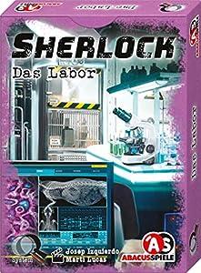 Abacusspiele 48196 Sherlock - Juego de Cartas (Contenido en alemán)