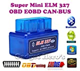 Gadget Hero's Torque SuperMini ELM 327 v2.1 Bluetooth EOBD 2 CAN-BUS OBD2 CAR