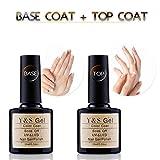 Y&S, smalto gel per unghie, soak off, UV, LED, per manicure, 6 colori qualsiasi a scelta, starter kit smalto per unghie 10ml ciascuno