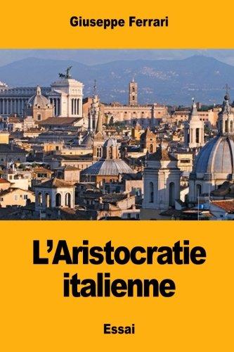L'Aristocratie italienne