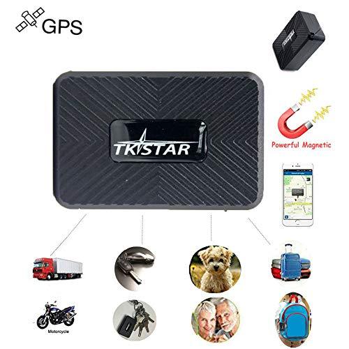 Mini GPS Tracker, TKSTAR Tragbare Echtzeit GPS Tracker Mini GPS Tracking Anti Verlust GPS Locator für Geldbörse Tasche Brieftasche Kinder Schulranzen Wichtige Dokumente Auto Verloren Finder mit APP