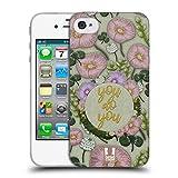 Head Case Designs Du Machst Du Gestickter Druck Zitate Soft Gel Hülle für iPhone 4 / iPhone 4S
