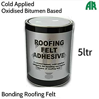 Roof Felt Adhesive | Bonding Roofing Felt | Cold Applied Sealant | 5ltr