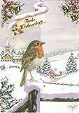 Paperclip 24 Weihnachtskarten mit Briefumschlägen Design CL 4004