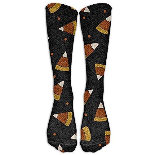 Pumpkin Party Candy Corn Upgraded Knee High Graduated Compression Socks For Women And Men - Best Medical, Nursing, Travel & Flight Socks - Running & Fitness. -