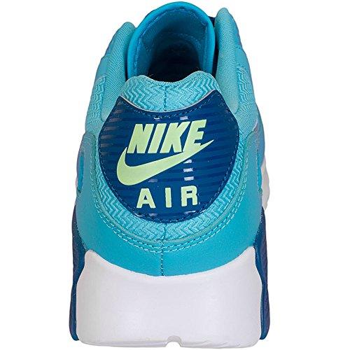 Nike Air Max 90 Ultra Essential Da Lauchuhe, Chaussures de Running Entrainement Femme Gris - Bleu