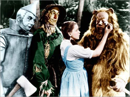 Posterlounge Alubild 80 x 60 cm: Der Zauberer von Oz von Everett (Der Zauberer Von Oz Tinman)