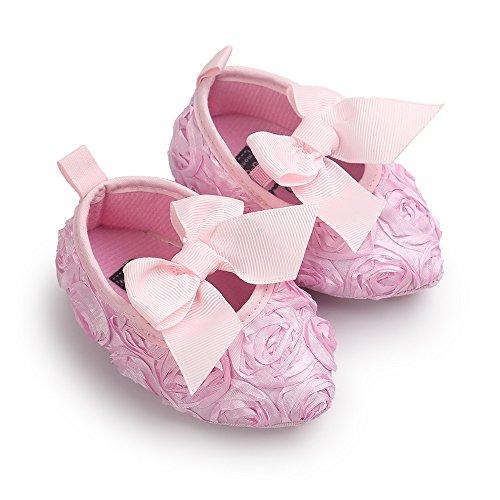 Estamico Monate Mädchen Rose 18 Baby Rosa 12 Lauflernschuhe aO7fa