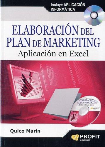 Elaboración del plan de marketing: Aplicación en Excel