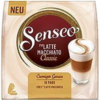 Senseo Latte Macchiato Classic, 10 Pads für 5 Kaffee, 5er Pack (5 x 90 g)