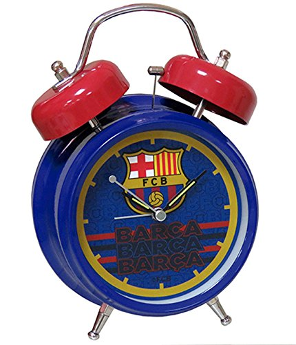 FC Barcelona–Despertador metal 18cm con himno Club de FCB