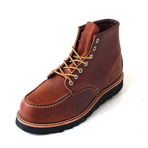 Red Wing Boots - Red Wing 6-Inch Classic Moc Toe Boots - Copper Rough & Tough -