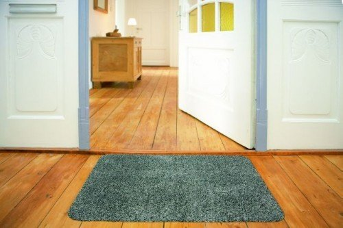 Fußmatte Türvorleger Kümpers Saugaktivmatte Anthrazit, Größe:90x150 cm