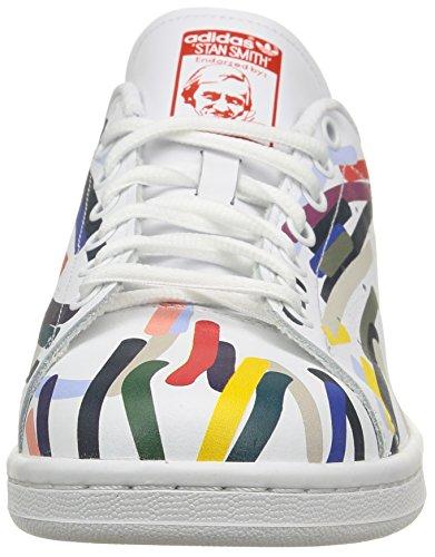 adidas Originals Stan Smith, Sneakers Unisex – Adulto Multicolore (Ftwr White/Ftwr White ...