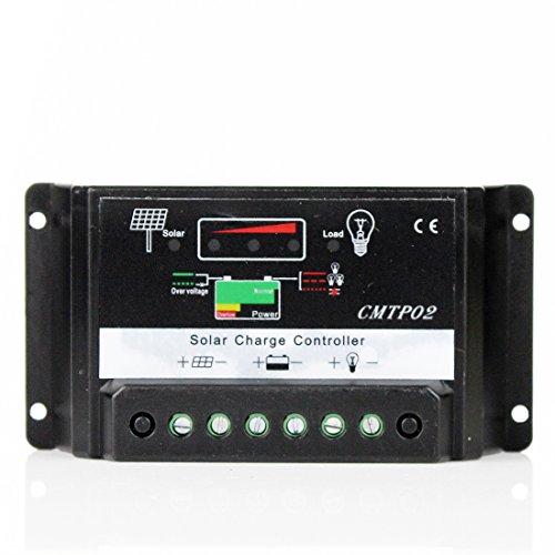 15A MMPT Solar Akku Regler Laderegler Controller Mini New Auto Switch 12V 24V