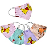Lsarimo Anti Pollution Baby Face Mask for Kids - Washable and Reusable (Set of 4)