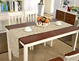CWJ Tischdecke-Couchtisch Tischdecke , Doppel-Couchtisch Schuhschrank TV-Schrank Wohnzimmer Restaurant Landhausstil , Haushaltstischdecke,35 * 180CM