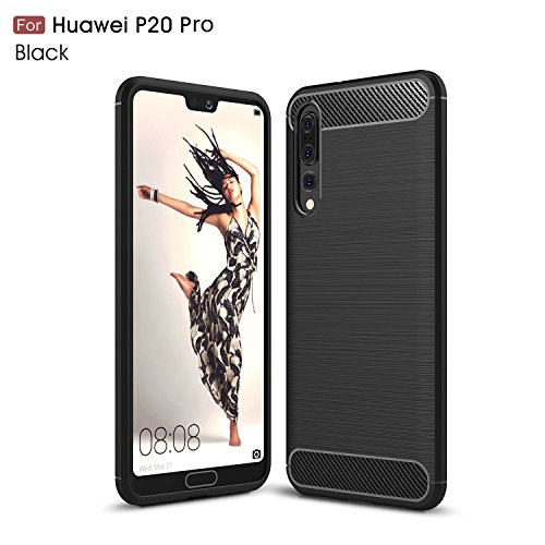 Huawei P20 Pro coque,ZIRE [Shock Absorption] Ultra-minces TPU Silicone Shell Housse Coque Étui, Silicone Coque pour Huawei P20 Pro