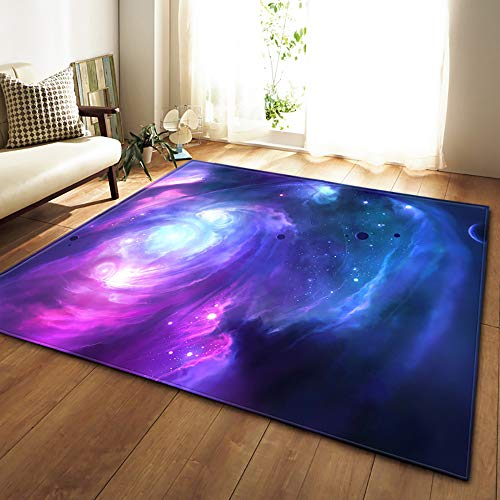 on Space Star Study Large Carpet Parlor Coffee Table Matte for Bedroom Computer Chair Bedside Chair Mats,#3,150x200cm ()