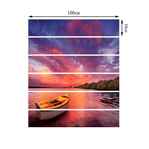 L-pj adesivi per scale 3d adesivi per decalcomanie adesivi per scale creativi adesivi autoadesivi rimovibili in vinile a 6 pcs/b 13pcs, a
