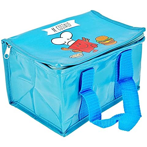 Mr et Mme - Lunch Bag Enfant Sac Repas Isotherme Mr Et Mme Costaud Bleu
