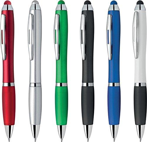 Penne personalizzabili personalizzate con nome logo o slogan gadget promozionali - flash plus pd091 - 100 pezzi stampa logo a colori