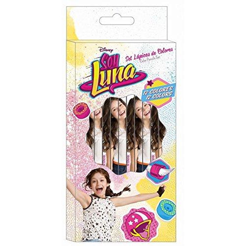 Pochette de 12 crayons de couleur Soy Luna
