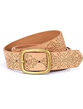 Retro repujado dama cinturón ocio decoración pantalones cinturón correa hebilla cinturón chica cinturón alargado...