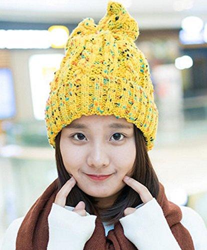 Cap Corée Sauvages Automne Et Hiver épaississement Chapeau Tricot Hat Hiver Enfant Version Coréenne Lovely Hiver Hommes Et Femmes Hat ( couleur : 5# ) # 11
