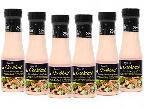 2Bslim Thousand Island Dressing, Cocktail Sauce, zuckerfrei, (6 x 250ml)