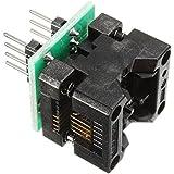 WINGONEER SOP8 a DIP8 IC adaptador de enchufe del zócalo de la alta calidad del programador OTS-16-03 para la EEPROM 24xx 93xx