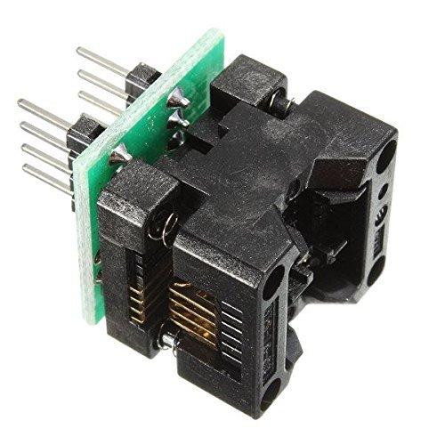 WINGONEER SOP8 zu DIP8 IC-Sockel Programmierer Adapter Sockel OTS-16-03 für 24xx 93xx eeprom 24xx Serie
