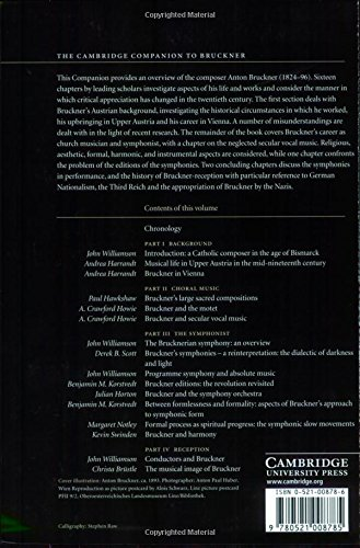 The Cambridge Companion to Bruckner (Cambridge Companions to Music)