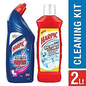 how to use harpic bathroom cleaner