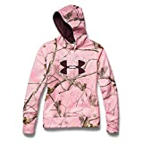 Under Armour Big Logo Hoody - Women's Realtree Ap Pink / Ivory / Ox Blood XS