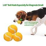 iDog Ballwurfmaschine Automatische Ball Launcher Rechargeable Ball Launcher Automatische Kugelschleuder Interaktive Ball Thrower mit 5 Hund Bälles für Klein Hunde (Mini) - 5