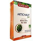 SuperDiet Artichaut Bien être du foie 20 ampoules de 15ml soit 300ml (Produit certifié bio)