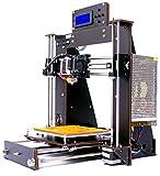 Win-Tinten-Intelligence Desktop 3D-Drucker DIY-Kits, Holz DIY Kit Prusa i3 3D-Desktop-Drucker, Hohe Präzision DIY 3D-Drucker Druckgröße 200x200x180mm
