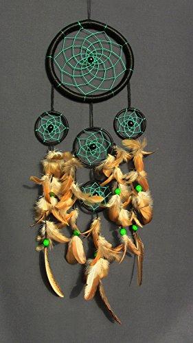 handgefertigt-grn-dream-catcher-acryl-garn-federn-holz-perlen-amulett-talisman-home-dcor