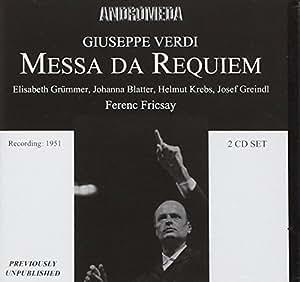 Messa Da Requiem / Quattro Pezzi Sacri