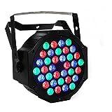Maxmer Lampada a Raggi Standard Europea di Spostamento del LED Le Luci DJ RGBW DJ di Controllo Remoto 36W si Illuminano Luci di Sfondo Colorate Piene di Colore KTV Bar Compleanno Party Lampade da