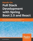 Hands-On Full Stack Development with Spring Boot 2.0  and React: Build modern and scalable full stack applications using