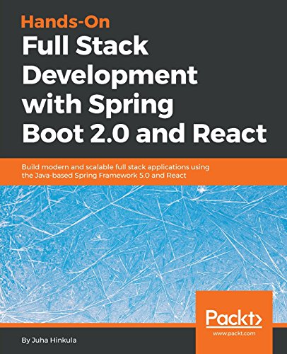 Hands-On Full Stack Development with Spring Boot 2.0 and React por Juha Hinkula