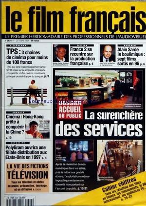FILM FRANCAIS (LE) [No 2634] du 11/10/1996