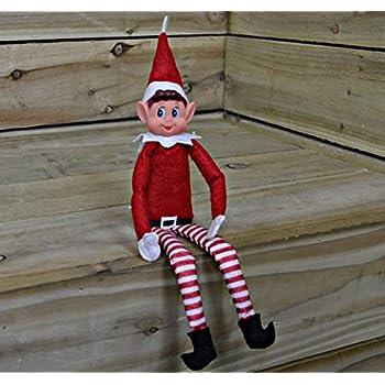 cc24040f40e17 Elves Behavin  Badly - Pack of 2 Elf Plush With Vinyl Face - Red White Black